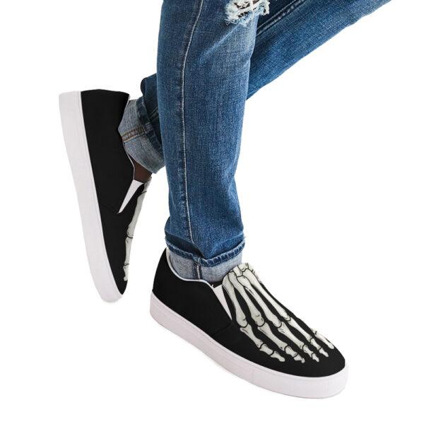 Elliz Next-Gen Skeleton Foot Slip-On Skater Shoes