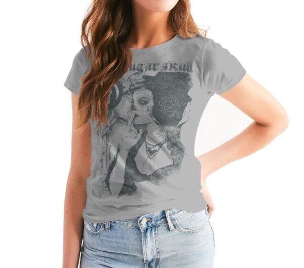 Catrina Camiseta para mujer del Dia de los Muertos