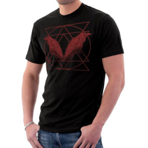 Elliz Clothing Red Ravens Unisex T-shirt