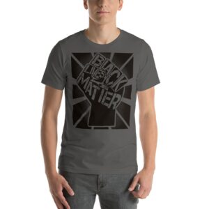 Black Lives Matter Camiseta BLM Asfalto