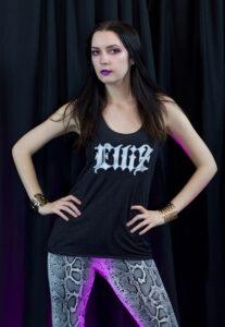 Elliz Clothing Champion Fitness Tank Jen Janet