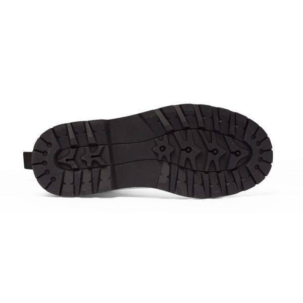 Elliz Clothing Black SnakeSkin Lace-up Ankle Boots