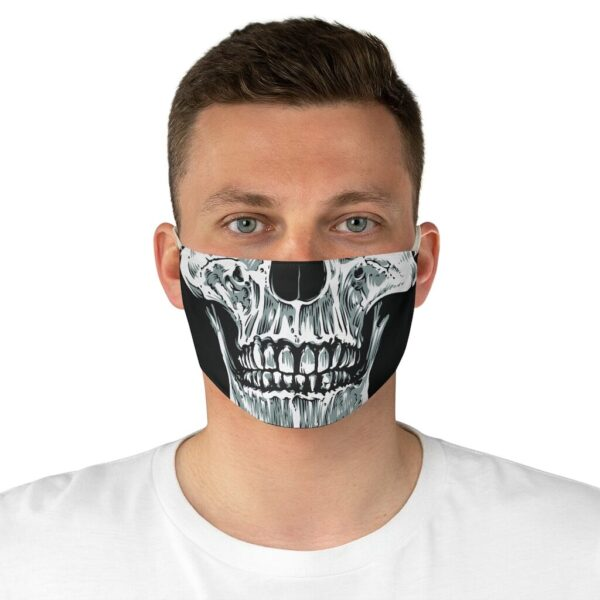 Elliz Clothing Skull Graphic Fabric Face Mask