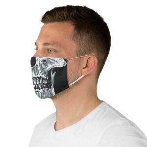 Elliz Clothing Máscara de Caveira Reutilizável de Pano