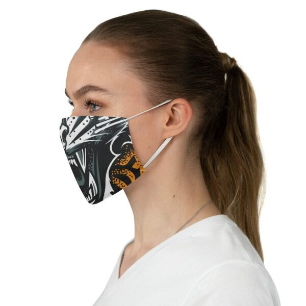 Elliz Clothing Tiger Mouth Graphic Fabric Face Mask
