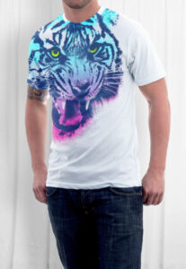 Elliz Clothing color fury tiger t-shirt asos