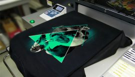 DTG_Printing Machine Elliz Clothing T-shirt