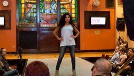 Elliz Clothing runway model