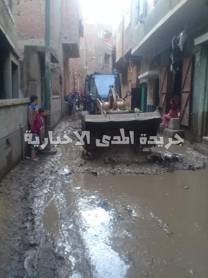 قريه زاويه الشيخ سند شبين القناطر قليوبيه قريه بلا خدمات