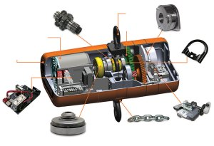Get Top Quality Electric Pulley Hoist With Factory Price