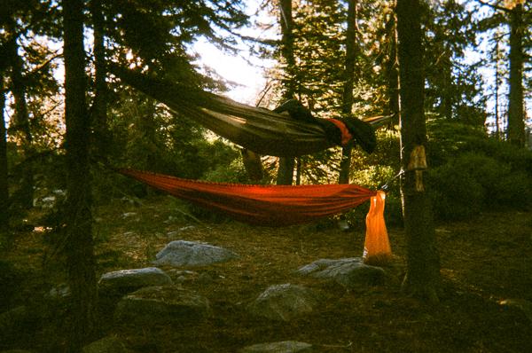 two camping hammock