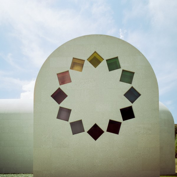 An image of the Ellsworth Kelly Chapel on the UT campus.