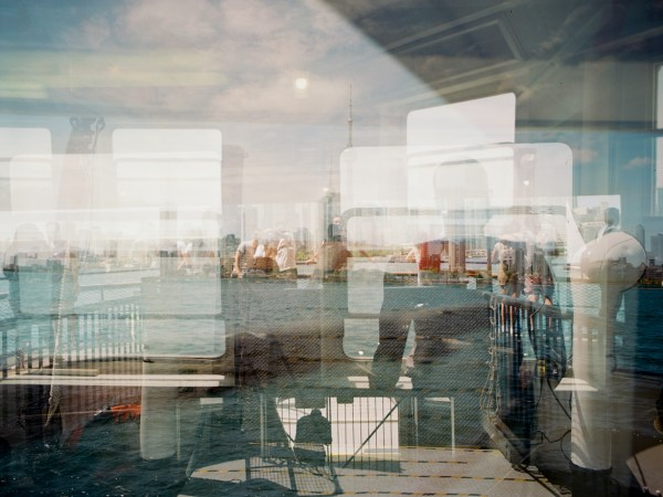 An accidental multiple exposure, shot on Kodak Ektar with a Bronica ETRSi. Processed and scanned by Downtown Camera.