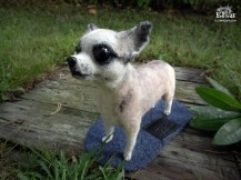 koira; huopakoira; lemmikki; miniatyyri; lahja koiran omistajille; koiranomistaja; oman koira; rakas koira; koiran näyttely; lahja; lahjaksi; paras lahja; villakoira; huovutus; käsityö; taide; tehty suomessa; chihuahua