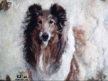 koiran rotu, collie, koira collie, koiran kuvi, seinataulu koira, ellunhuopa, ellun huopa, koiran taulu, dog painting, dog picture