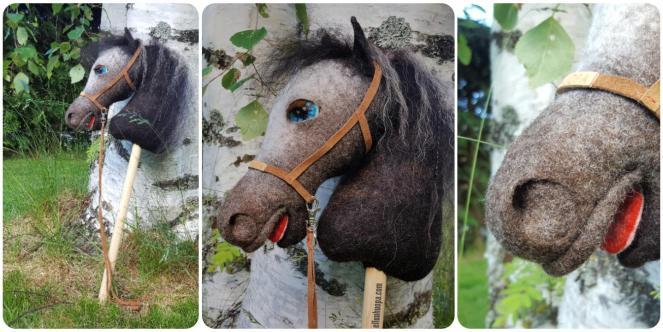 huovutettu keppihevonen, keppari, kepparit, heppa, heppatalli, hevonen, habby horse