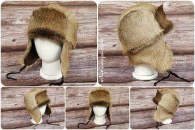 hattu peuran karvoista, kmetsäkauris hattu,