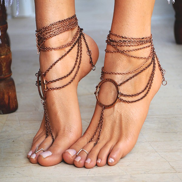 ellwed il_fullxfull.773461022_ocvz 24 Summer Beach Wedding Sandals from Greece that You Can Find on Etsy