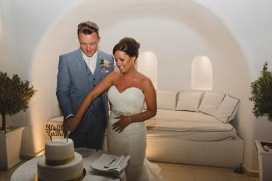 ellwed BenWyattPhotography-132 Blush and Gold Luxury Chic Santorini Wedding