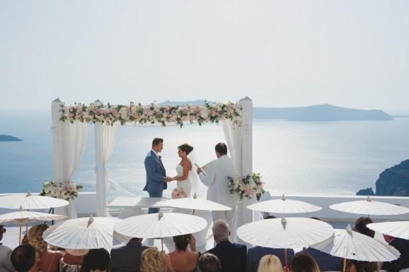 ellwed BenWyattPhotography-44 Blush and Gold Luxury Chic Santorini Wedding