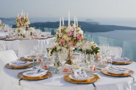 ellwed BenWyattPhotography-66 Blush and Gold Luxury Chic Santorini Wedding