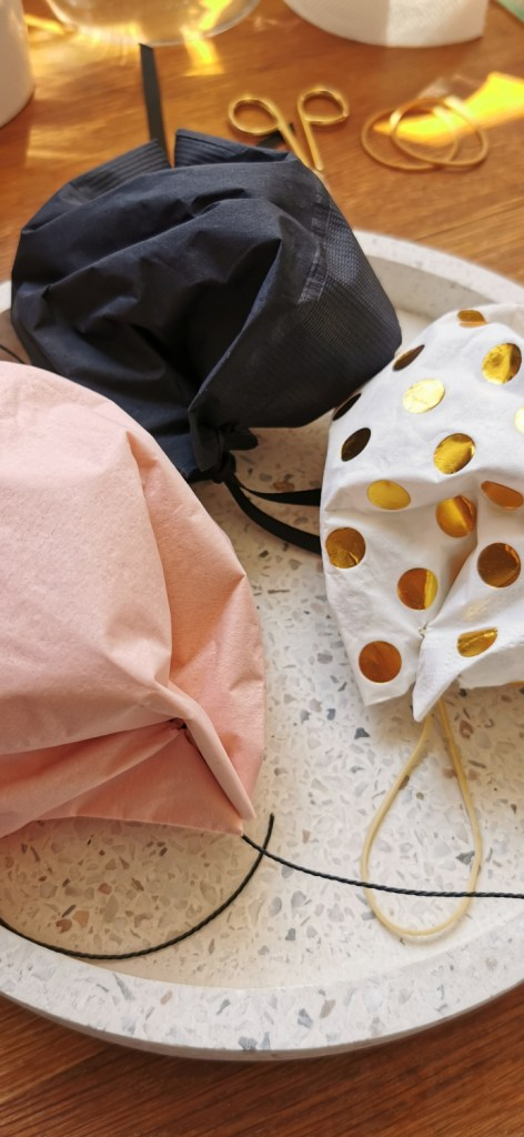 three napkin diy face masks