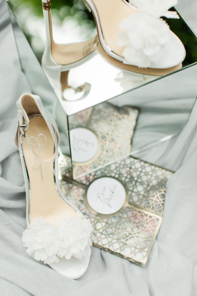 SUMMER CORAL LAKESIDE WEDDING Kalogirou  shoes