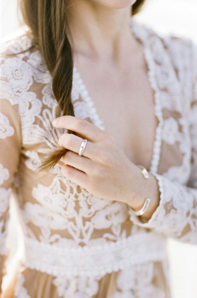 Greek Wedding Theme bridal details