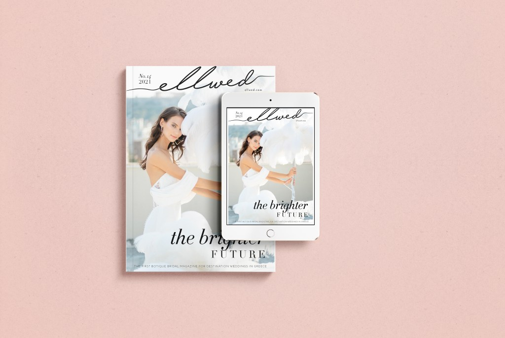 Brighter Future Ellwed Magazine for weddings in Greece
