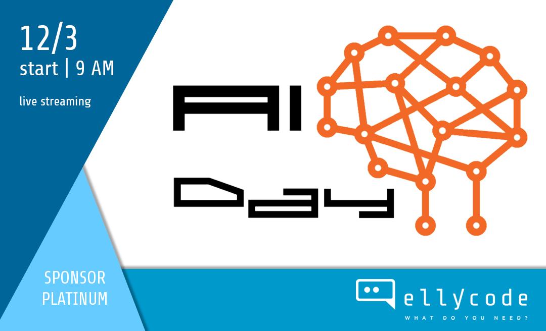 Siamo sponsor Platinum dell'A.I. Day