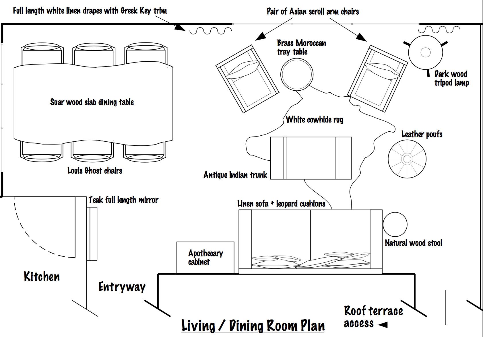 Living Room Update…and A Little Bit Of Greek Key