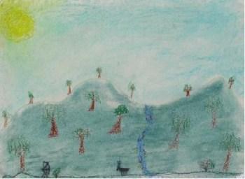 Drawing by Dan from Tallangatta