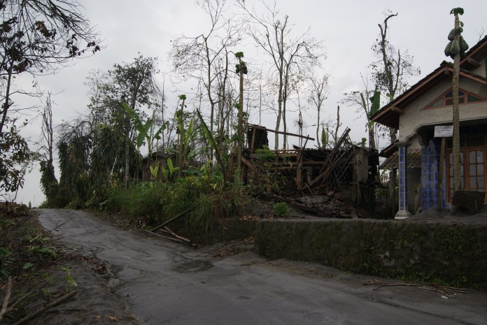 What people came home to months after the eruption.