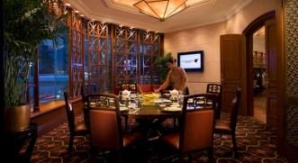 Man Ho Chinese Restaurant Hong Kong interior