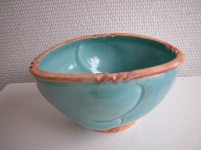 Blå keramik skål - Elly Pedersen Keramik