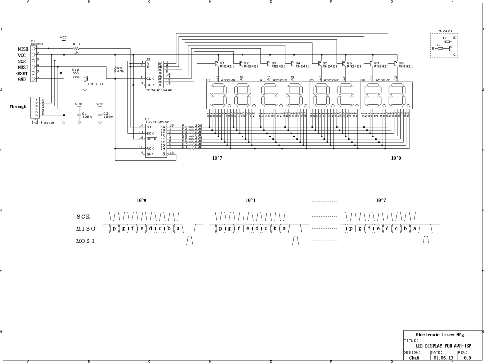 medium resolution of circuit diagram and timing diagram example of refreshing led display