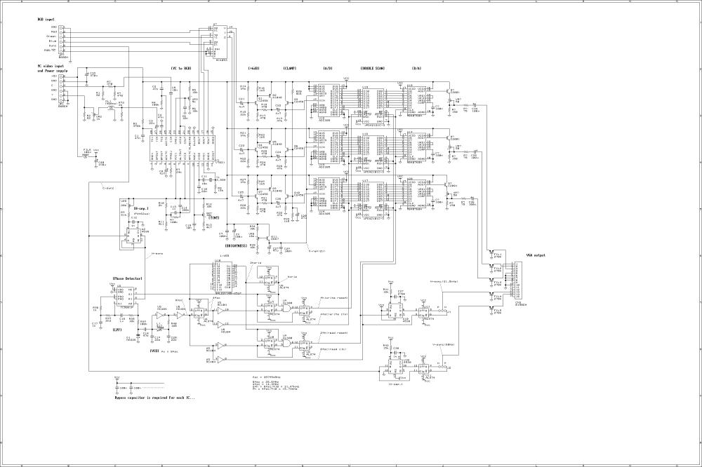 medium resolution of circuit diagram for scan convertr