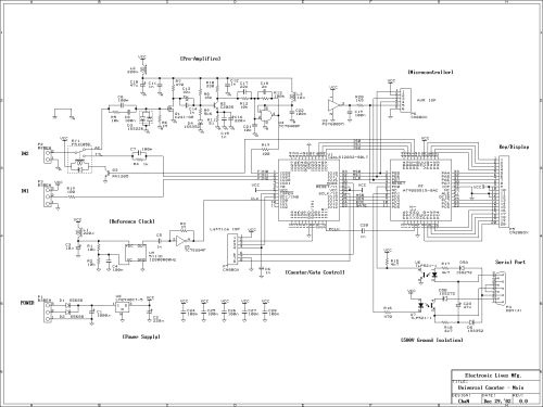 small resolution of main board circuit diagram