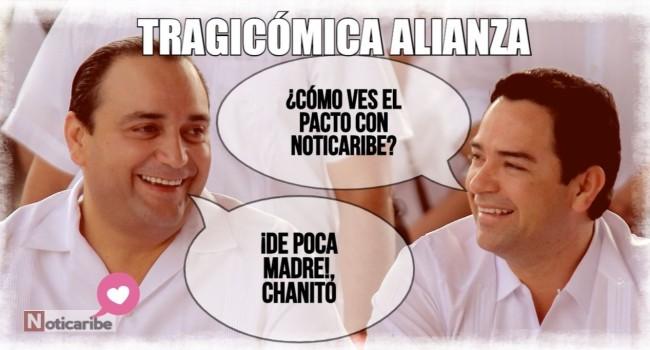 Roberto Borge y Chanito Toledo