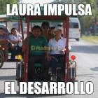 Laura Fernández impulsa el desarrollo