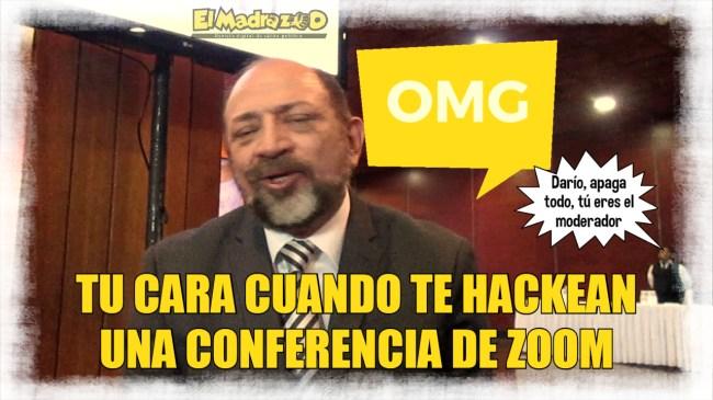 Darío, hackeado