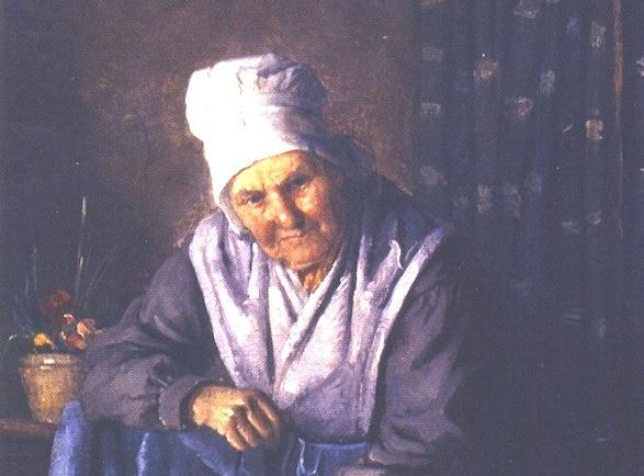 السيدة العجوز