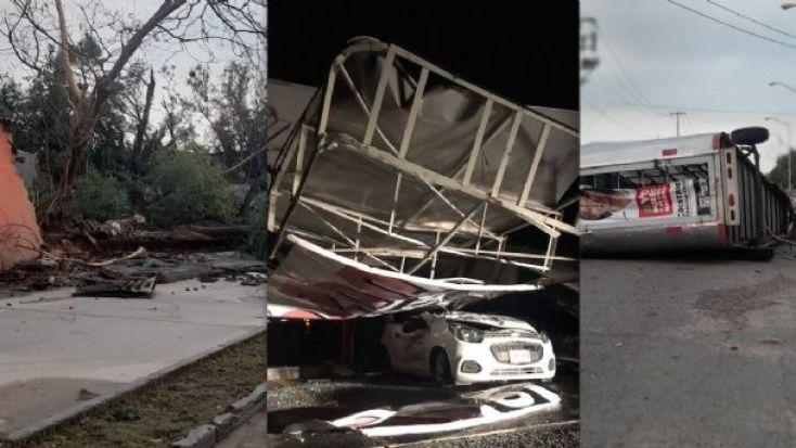 FOTOS: Caos y destrucción deja súper tormenta en Nuevo Laredo   El Mañana  de Nuevo Laredo