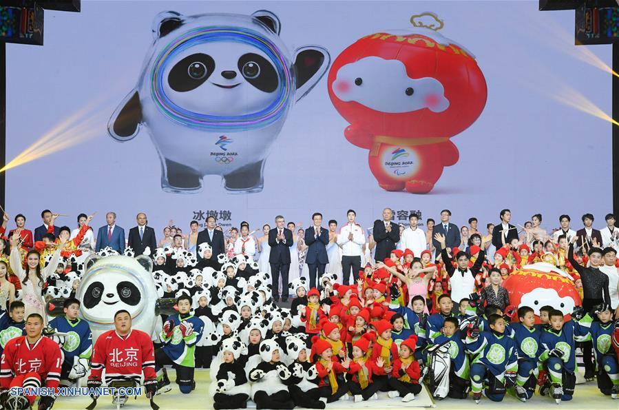 Presentan mascotas de Juegos Olímpicos y Paralímpicos de Invierno de Beijing 2022 | El Mandarn