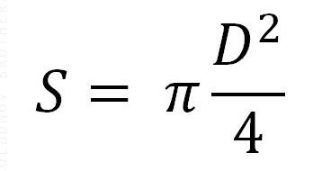 Формула расчета сечения жилы
