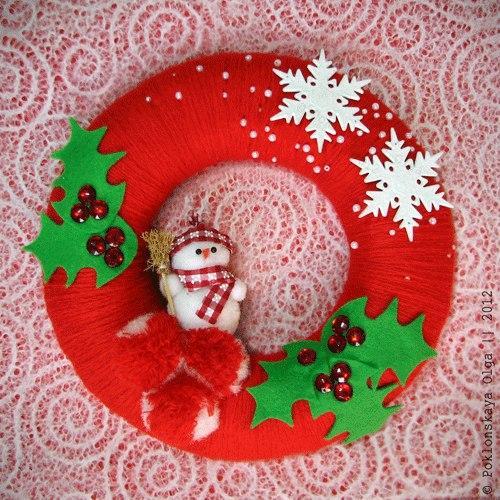 Adornos para puerta de navidad con moldes gratis