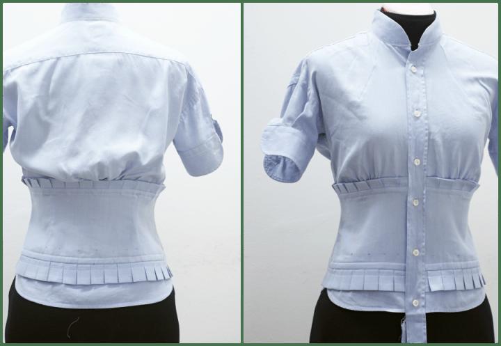 Como hacer camisas para dama modelos