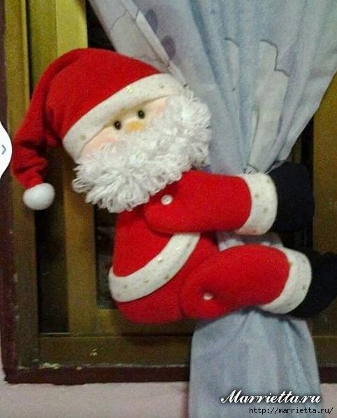 Cortinas De Navidad Sencillas