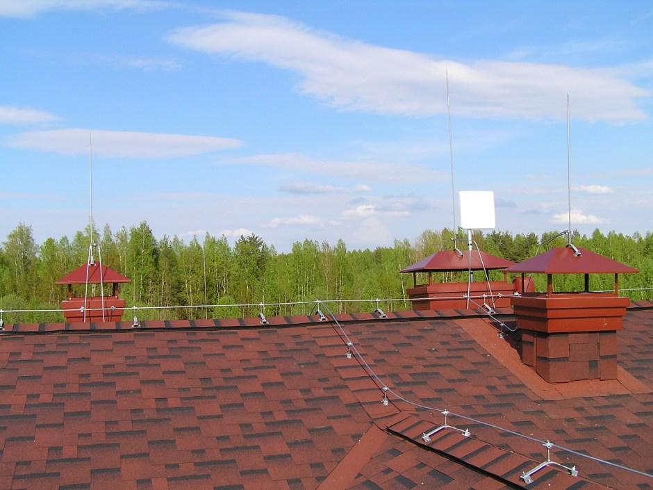 Молниезащита wi-fi антенны