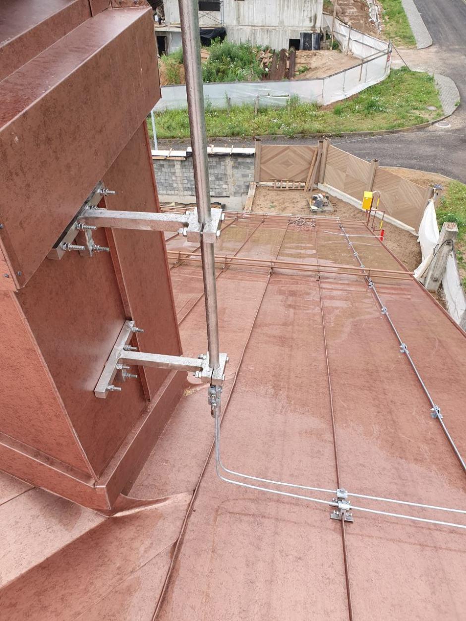 Молниеприемнмик стержневой сборный типа МСС-3.1К из нержавеющей стали